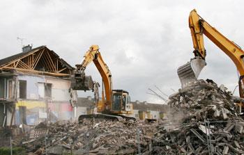 Démolition et construction