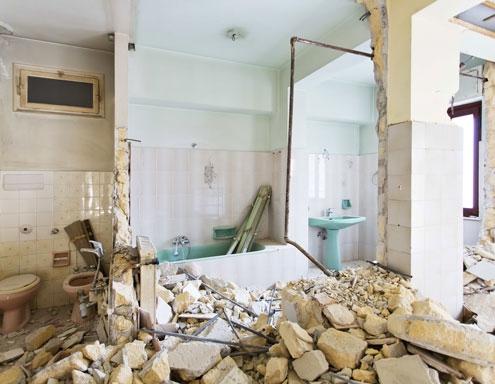 démolition maison en pierre