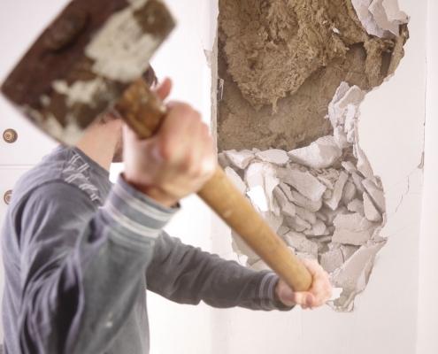 Cout démolition cloison