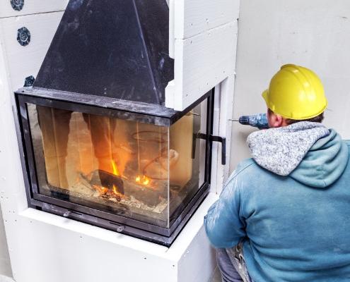 Coût de démontage de cheminée