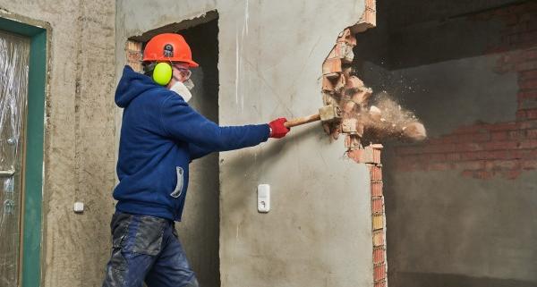 Choix d'un devis de démolition de mur porteur