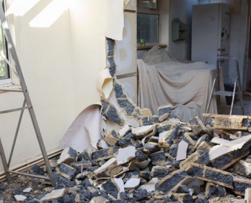 Coût de démolition d'un mur en parpaing