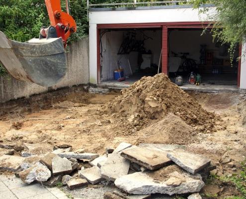 Prix de démolition de garage