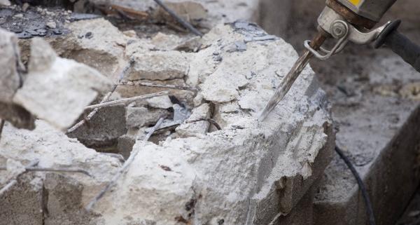 Coût de la démolition d'une dalle en béton