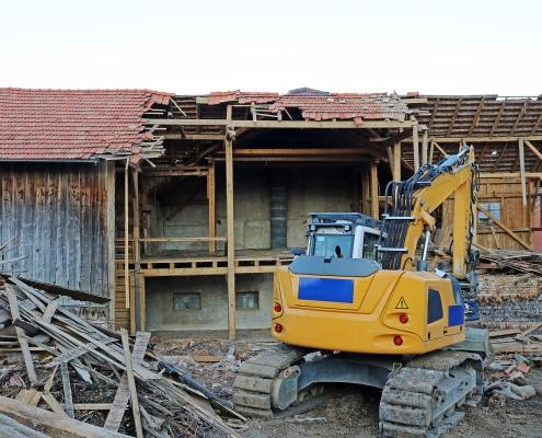 Prix de démolition d'une grange