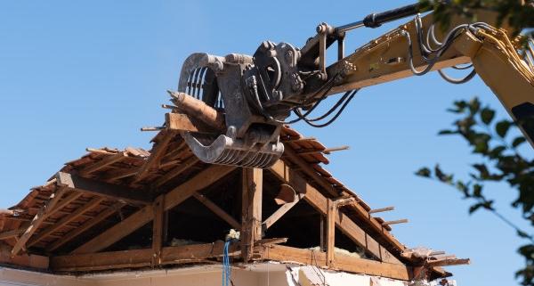Le point sur la démolition d'une toiture