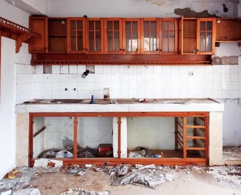 Coût de démolition d'une cuisine