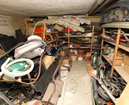 Coût pour débarrasser sa cave